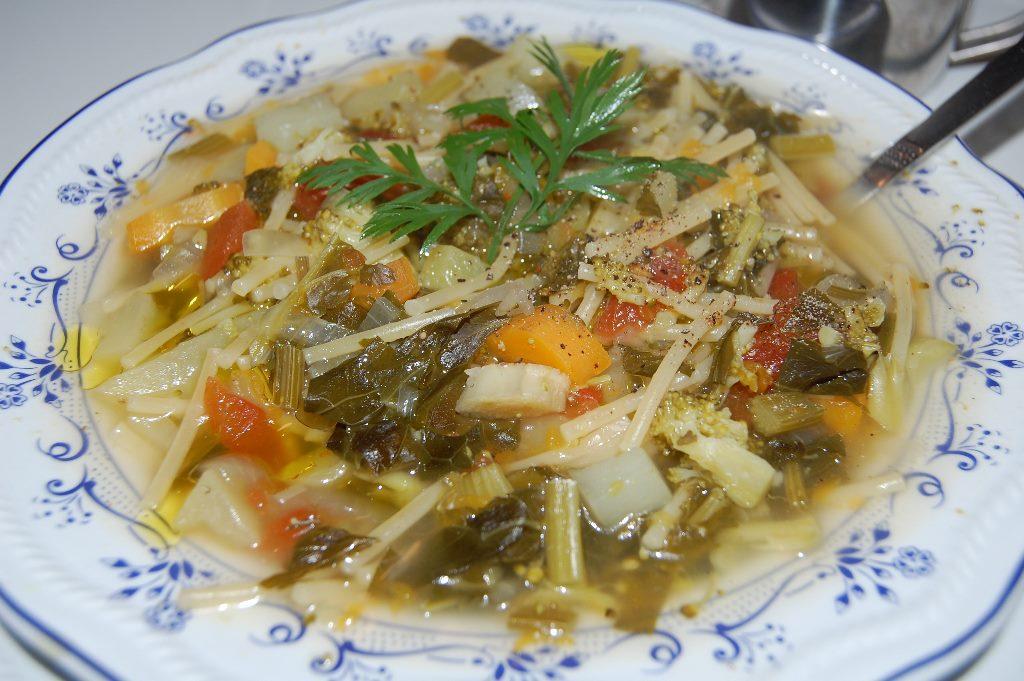 Ricetta minestra invernale siciliana