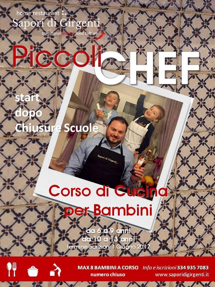 PICCOLI CHEF – Corsi di Cucina per Bambini