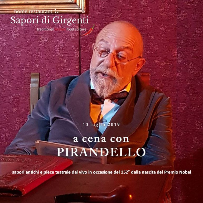 a dinner with Pirandello